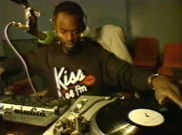 Trevor Nelson on Kiss in 1988