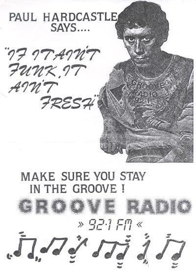 Poster for Groove Radio